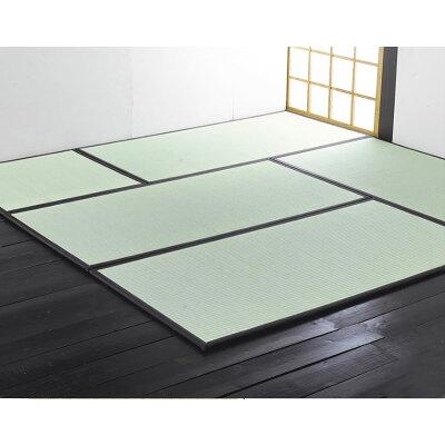 純国産い草ユニット畳(置き畳) あぐら 1畳タイプ(約82×164×厚さ1.7cm)