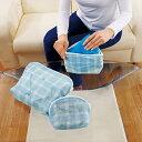トラベルポーチ 下着 洗濯ネット そのまま洗濯トラベルポーチ ブルー 3枚組 大中小