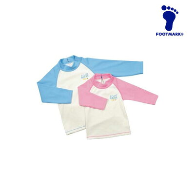 FOOT MARK フットマーク ベビー水着・ロングスリーブ 0250146 カラー:ピンク サイズ:M