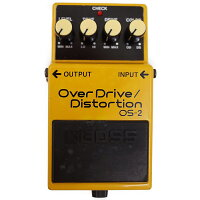 BOSS ボス Over Drive/Distortion OS-2