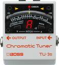 ローランド BOSS TU-3S Chromatic Tuner
