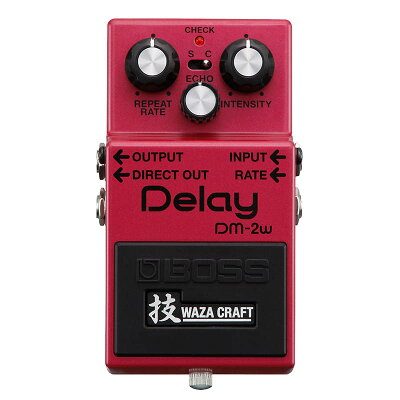 BOSS DM-2W J MADE IN JAPAN Delay 技 Waza Craft Series Special Edition