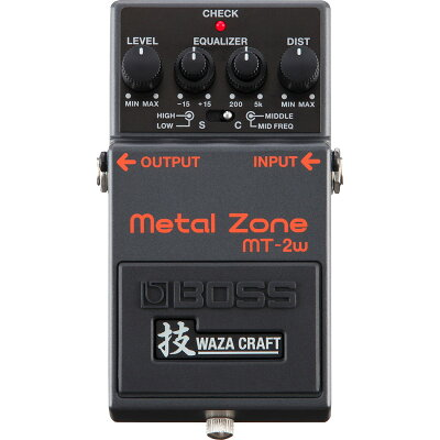 BOSS MT-2W MADE IN JAPAN Metal Zone 技 Waza Craft Series Special Edition