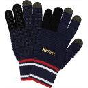 ザナックス 野球手袋グローブ スマホニット手袋 BBG-86-5023