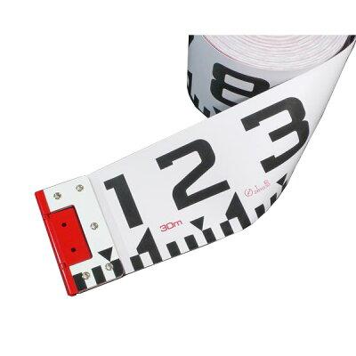 ヤマヨ YAMAYO R12A20 リボンロッド両サイド120E-1 現場記録写真用巻尺 R12A20