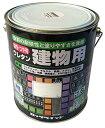 (ロックペイント) 油性・つや有 ウレタン建物用 みどり 1.6L H06-1614