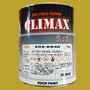 ロックペイント 202-6940 プラサフクライマックス(ミディアムグレー) 202-0110 硬化剤付セット 4.9kg