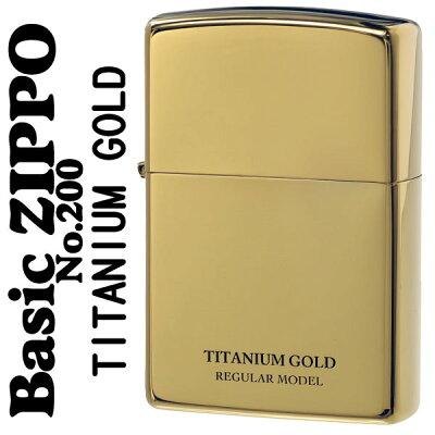zippo ジッポーライター UNMiX アンミックス ゴールドチタン 200