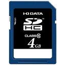 アイ・オー・データ機器 SDメモリーカード SDH-T4G