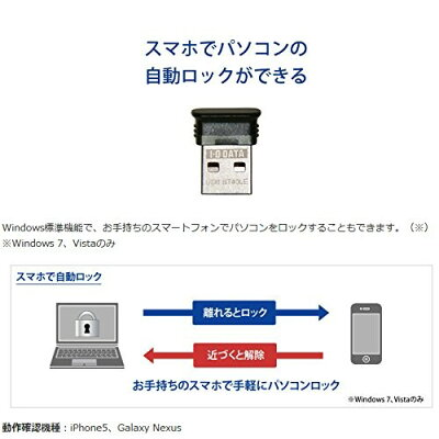 アイ・オー・データ bluetooth 4.0+edr/le対応 usbアダプター usb-bt e