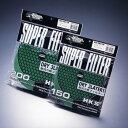 HKS スーパーパワーフローリローテッド交換用フィルター グリーン 200パイ