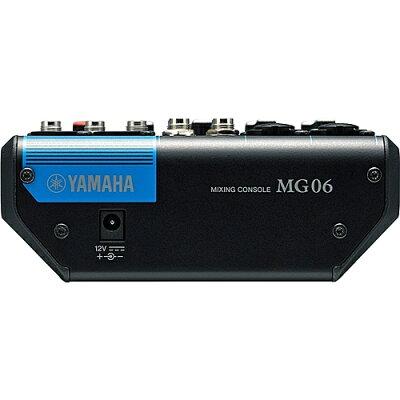 ヤマハ 6チャンネルミキシングコンソール MG06