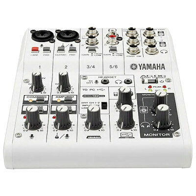 YAMAHA/ヤマハ AG06 ウェブキャスティングミキサー