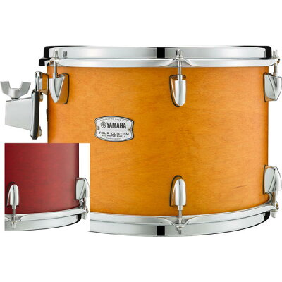 "YAMAHA ヤマハ  TMT1309CAS Tour Custom All Maple Shell Tom Tom 13"" x 9"" キャンディアップルサテンTour Custom"
