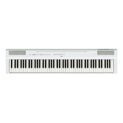 YAMAHA 電子ピアノ Pシリーズ P-125WH