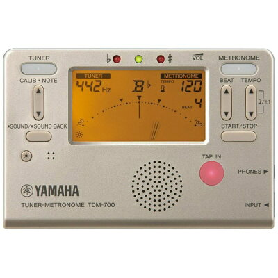 TDM-700G ヤマハ チューナー/メトロノーム ゴールド YAMAHA TDM700G