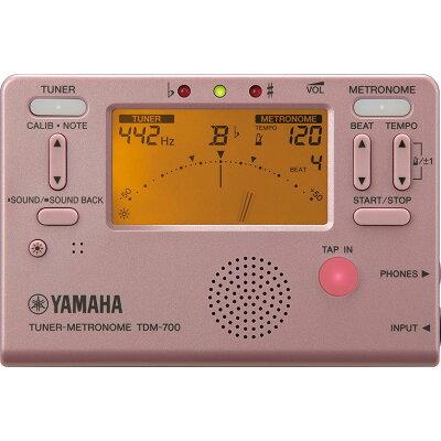 ヤマハ チューナーメトロノーム ピンクYAMAHA TDM-700P