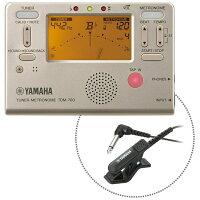 YAMAHA/チューナーメトロノーム TDM-700GM マイク ヤマハ