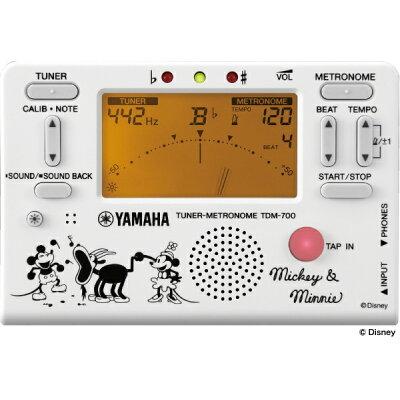 YAMAHA ヤマハ TDM-700DMN5 ミッキー&ミニー チューナーメトロノーム