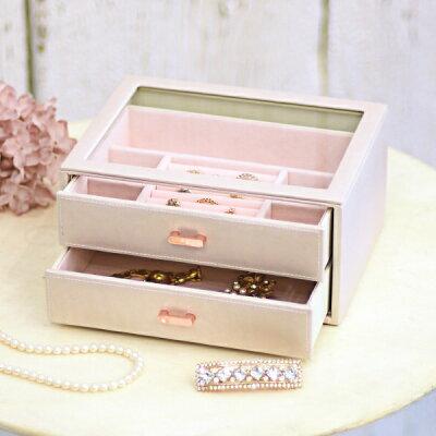 茶谷産業 Jewel Case Collection ジュエルケース アクセサリーケース 240-798 1093356