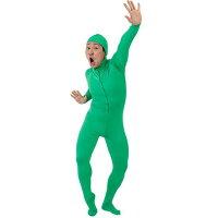 全身タイツ 緑 L 7417
