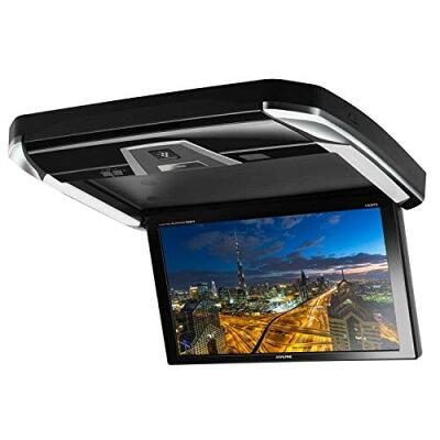 ALPINE PXH12X-R-AV トヨタ 30系 アルファード/ヴェルファイア専用 プラズマクラスター技術搭載 天井取付け 12.8型 WXGA液晶リアビジョン HDMI接続 /本体色:ブラック
