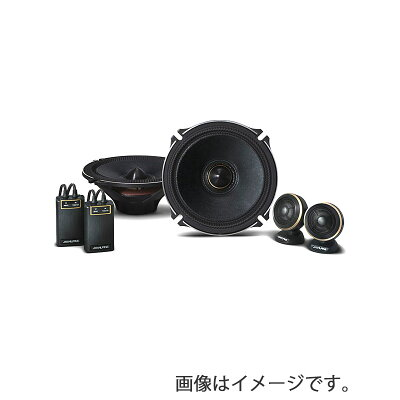 ALPINE/アルパイン 17cmセパレート2ウェイスピーカー X-170S 4958043233564