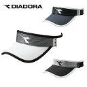 ディアドラ diadora レディース テニス用品 サンバイザー フリーサイズ ホワイト DTA9742 90