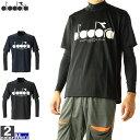 ディアドラ diadora メンズ テニス Tシャツ インナーセット ネイビー DTP9520 68