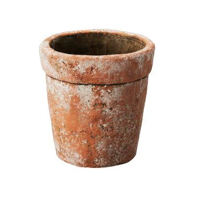 クニータポット S MC-1636 シャビーテラ/155-1636-99 ガーデニング用品 プランター 陶器