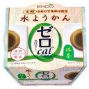 遠藤製餡 0カロリー水ようかん 抹茶 90g