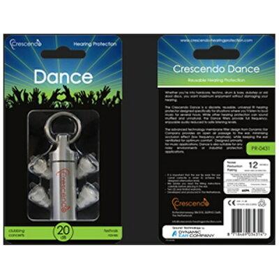 コラボシステム大音量音楽鑑賞用イヤープラグ Crescendo Dance CrescendoDance