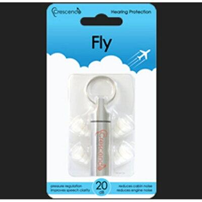 コラボシステム飛行機用イヤープラグ Crescendo Fly CrescendoFly