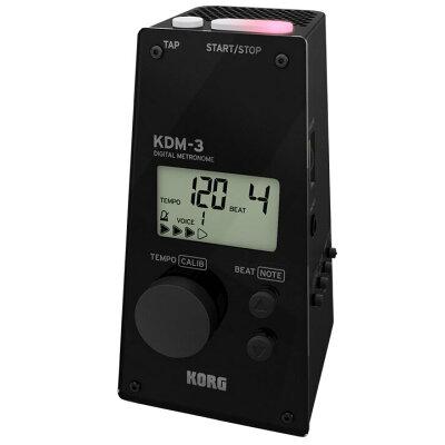 コルグ KORG KDM3-BK デジタルメトロノーム KDM-3 BLACKK