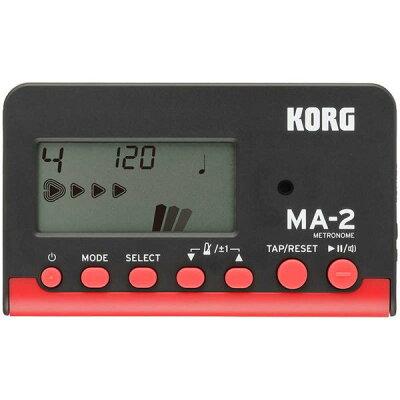 KORG コルグ MA-2-BKRD カード型 電子メトロノーム