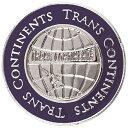 クラベリアTRANS CONTINENTS ロゴデザイン クリップマーカー ネイビー TCCM-02 TCCM02