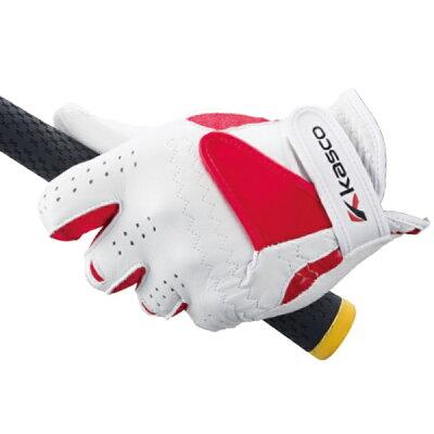 キャスコ ゴルフグローブ BATSU FIT 23cm・レギュラーサイズ/ホワイト SF-15201R