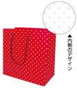 手提紙袋プティハートS195幅×110マチ×195高