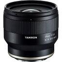 TAMRON 交換レンズ 20F2.8 DI III OSD M1:2(F050SE)