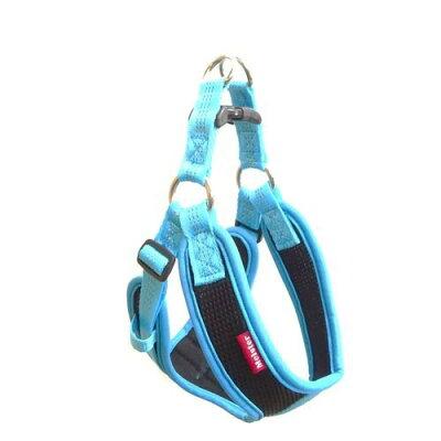 マイスター クッションソフティハーネス S ブルー/ブラック(1コ入)