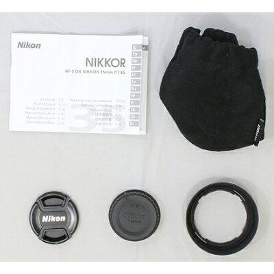 Nikon DXフォーマットNIKKOR レンズ AF-S DX 35F1.8G