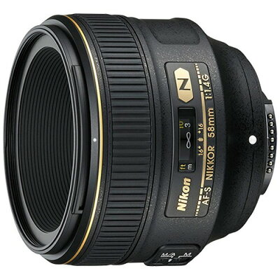 Nikon  レンズ AF-S 58F1.4G