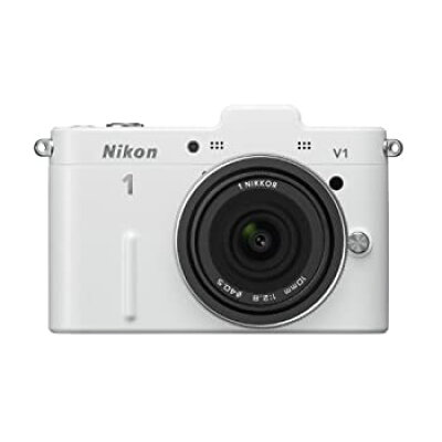 Nikon NIKON 1 V1 レンズキット WHITE