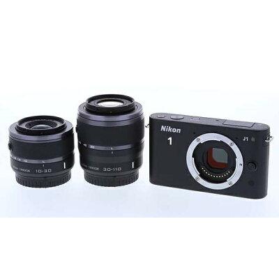 Nikon NIKON 1 J1 Wズームキット BLACK