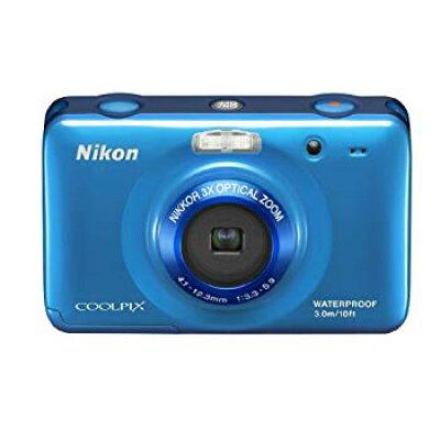 Nikon コンパクトデジタルカメラ COOLPIX Style S30 BLUE