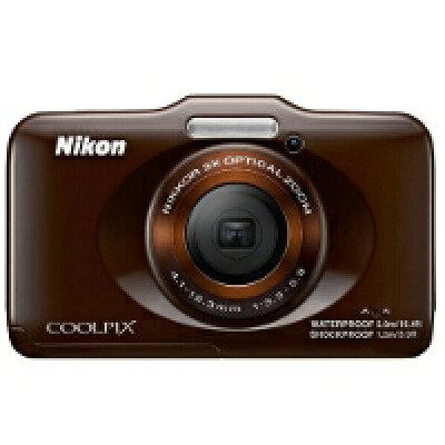 ニコン デジタルカメラ クールピクス S31 ブラウン(1台)