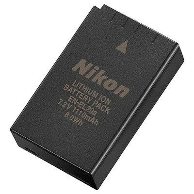 ニコン 純正Li-ionリチャージャブルバッテリー EN-EL20a(1コ入)