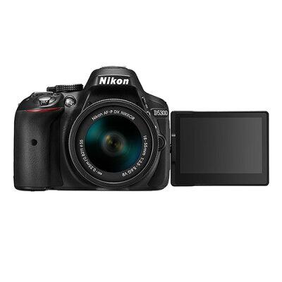 Nikon  DXフォーマットデジタル一眼レフカメラ D5300 AF-P 18-55 VR レンズキット BL