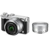 Nikon CXフォーマットミラーレスカメラ Nikon 1 J5 Wレンズキット SILVER