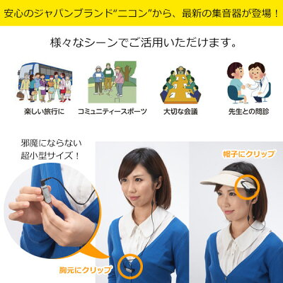 Nikon ニコン リスニングプレーヤー クリップミニ/